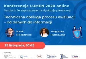 Plakat konferencji Lumen