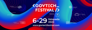 Plakat Govtech Festival