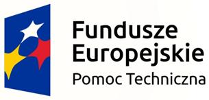 Logo Fundusze Europejskie Pomoc Techniczna